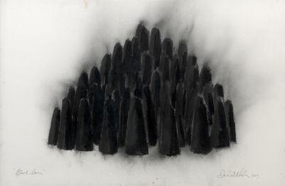 David Nash, 'Black Dome', 2009
