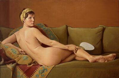 Ron Schwerin, 'Laurie as Odelisque'