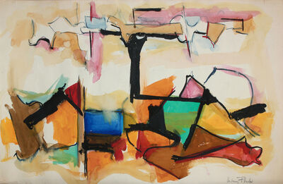 Audrey Flack, 'Traveling On', 1950-1951