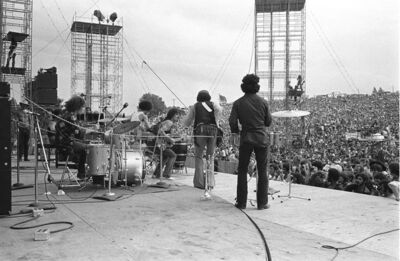 Baron Wolman, 'Santana, Woodstock, 1969', 1969