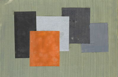 Kathleen Guthrie, 'Original design for 5 squares', 1960