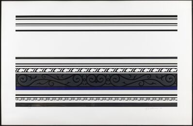 Roy Lichtenstein, 'Entablature IX (Corlett 146)', 1976