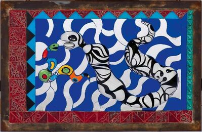Niki de Saint Phalle, 'Serpents', ca. 1987