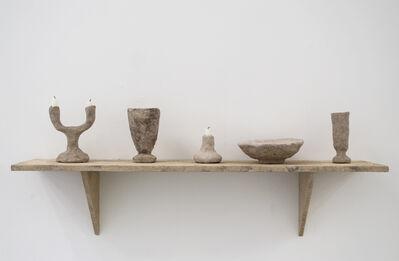 Fredrik Paulsen, 'Stoned Shelf with Objects', 2015