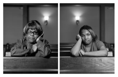 Dawoud Bey, 'The Birmingham Project: Janice Kemp and Triniti Williams', 2012