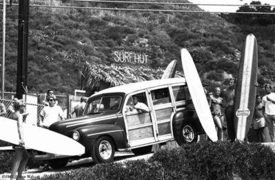 Julian Wasser, 'Surf Hut', 1962