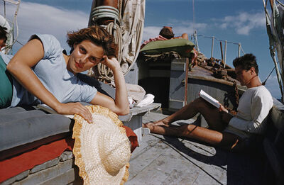 Slim Aarons, 'Capri Cruise', 1958