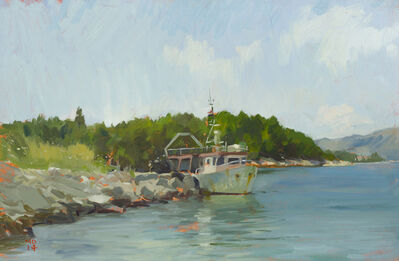 Marc Dalessio, 'Korcula Fishing Boat', 2014