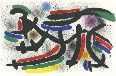 Joan Miró, 'Litografia Originale IX', 1972