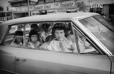 Jim Marshall, 'Car Lady with Cat Eye Glasses, 1967', 2017