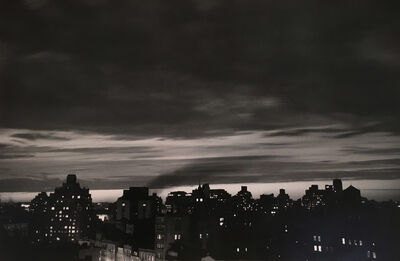 André Kertész, 'Homage to Robert Capa, 1954 (New York Skyline)', 1954