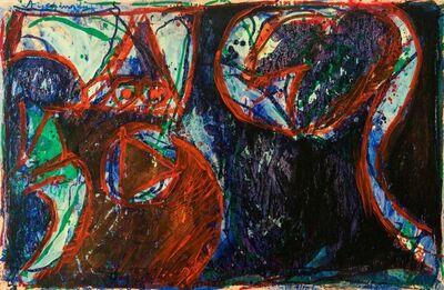 Pierre Alechinsky, 'Opter pour l'esprit', 1966
