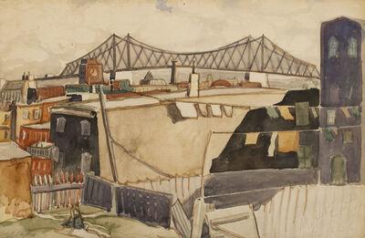 Marc-Aurèle Fortin, 'Pont Jacques-Cartier'