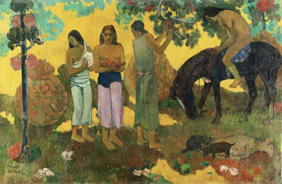 Paul Gauguin, 'Rupe Rupe (The Fruit Harvest)', 1899