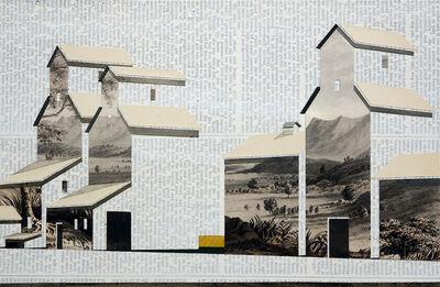 William Steiger, 'Wheat Pool (Santa Ynez Mountains)', 2013