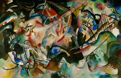 Wassily Kandinsky, 'Composition Number 6', 1913