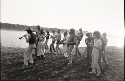 Ken Regan, 'The Band of Merry Players', 1975