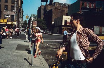 Steve Schapiro, 'Jodie Crossing Street, NY', 1975