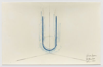 Stephen Antonakos, 'Corner Neon', 1970