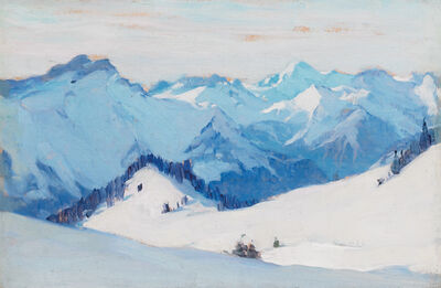 Clarence A. Gagnon, 'Villars Suisse', 1911