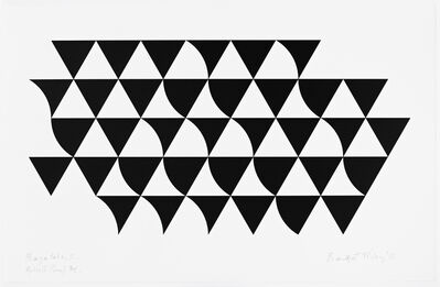 Bridget Riley, 'Bagatelle 2', 2015