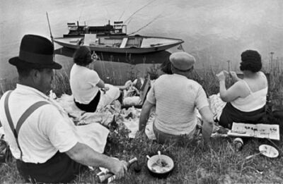 Henri Cartier-Bresson, 'On the Banks of the Marne', 1938