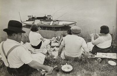 Henri Cartier-Bresson, 'On The Banks of the Marne, France', 1938