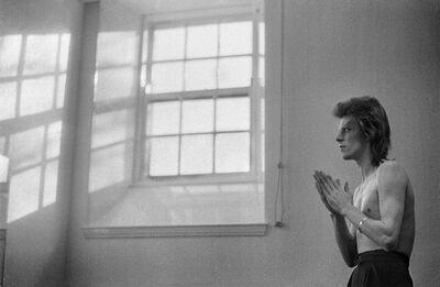 Mick Rock, 'Bowie Praying by Windows', 1973