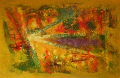 Jeannine Hunter Lazzaro, 'Mustard Gascloud', 2020