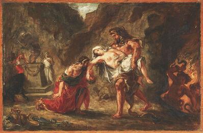 Eugène Delacroix, 'Hercules and Alcestis', 1862