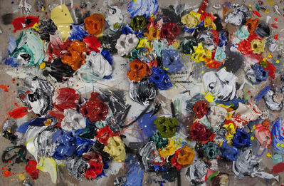 Ismael Lagares, 'Red and Blue XX', 2020