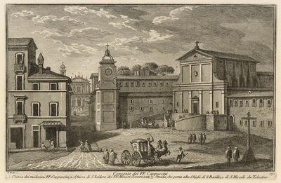 Giuseppe Vasi, 'Convento dei PP. Cappuccini', 1747-1801