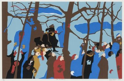 Jacob Lawrence, 'THE SWEARING IN', 1977