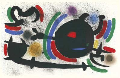 Joan Miró, 'Litografia Originale X', 1972
