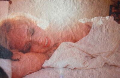Katrina Del Mar, 'White Leather Series: Tessa in bed, backlit', 2015