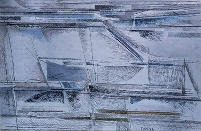 Toti Scialoja, 'Libeccio (Southwest Wind)', 1954