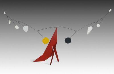 Alexander Calder, 'The Red Base', 1969