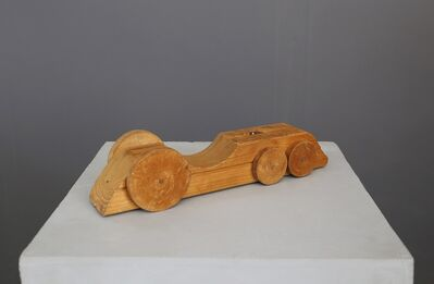 Urano Palma, 'Wood Sculpture Futurist Machine by Urano Palma Locomotive title, from 1936', 1936