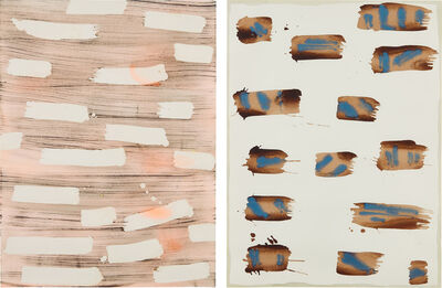 Rebecca Morris, 'Two works: (i) Untitled (#152-02); (ii) Untitled (#102-13)', (i) 2002; (ii) 2013