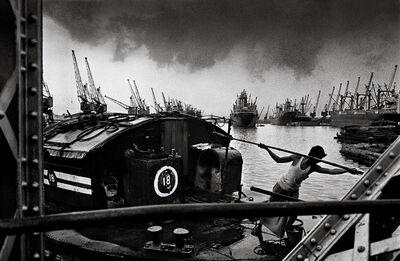 Raghu Rai, 'Dockyard, Kolkata   ', 1990