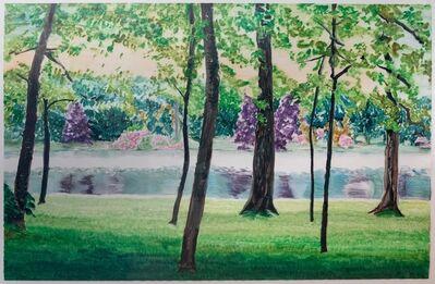 Carolyn Brady, 'Stourhead Across the Lake', 1997