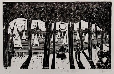 Herbert Siebner, 'Evening in Hamburg', 1981