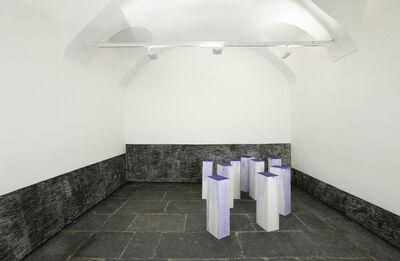 Latifa Echakhch, 'A chaque stencil une revolution, une apres l'autre', 2009-2014