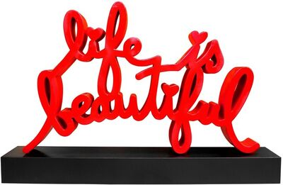 Mr. Brainwash, 'Life is Beautiful Monumental Sculpture', 2015