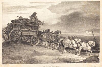 Théodore Géricault, 'The Coal Waggon', 1821