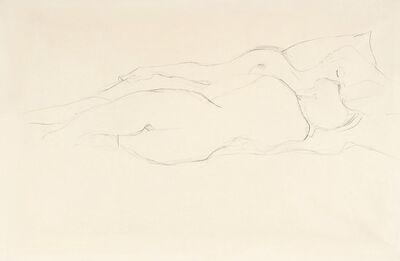Gustav Klimt, 'Two Reclining Female Friends', 1907