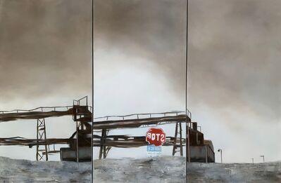 Shabnam Yousefian, 'Untitled, Triptych', 2019
