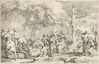 Salvator Rosa, 'The Crucifixion of Polycrates', ca. 1662
