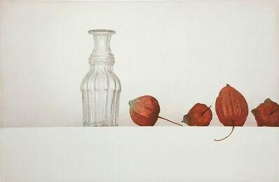 Soo Kang Kim, 'Bottle & Ground Cherries', 2012