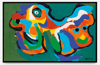 Karel Appel, 'Two Heads ', 1973